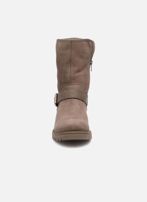 Bottines et boots Panama Jack Singapur Gris vue portées chaussures