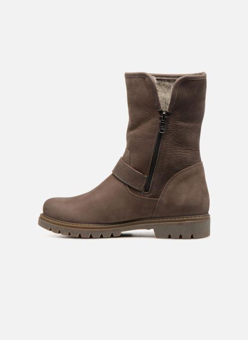 Bottines et boots Panama Jack Singapur Gris vue face