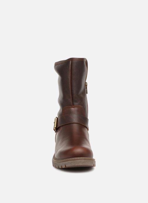 Bottines et boots Panama Jack Singapur Marron vue portées chaussures