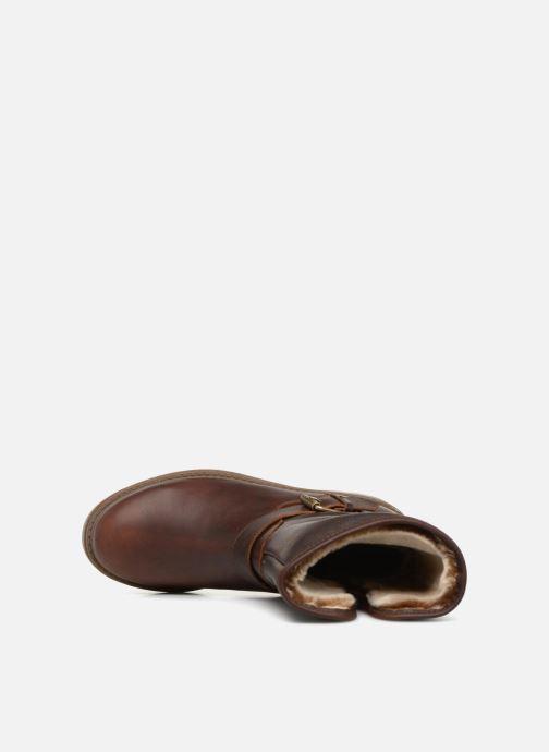 Bottines et boots Panama Jack Singapur Marron vue gauche
