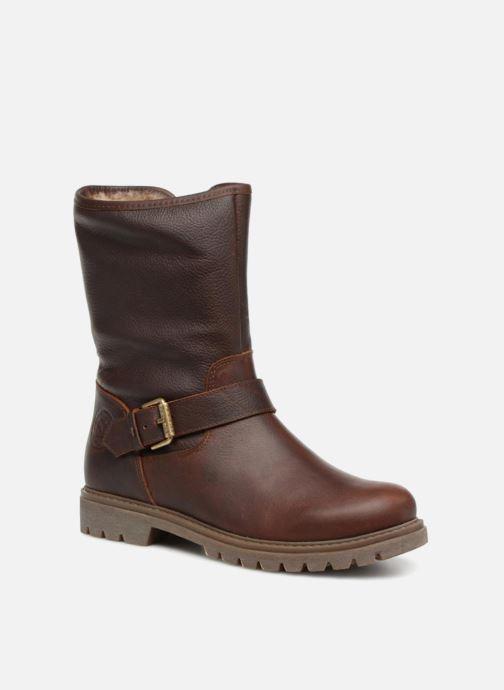 Boots en enkellaarsjes Panama Jack Singapur Bruin detail