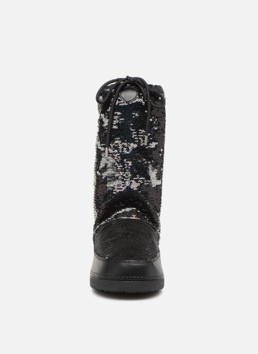 Zapatillas de deporte Love Moschino Paillettes Ski Boot Negro vista del modelo
