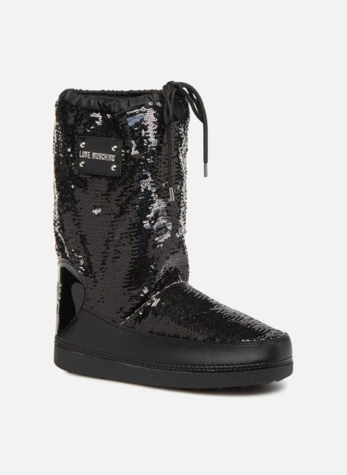 Zapatillas de deporte Love Moschino Paillettes Ski Boot Negro vista de detalle / par