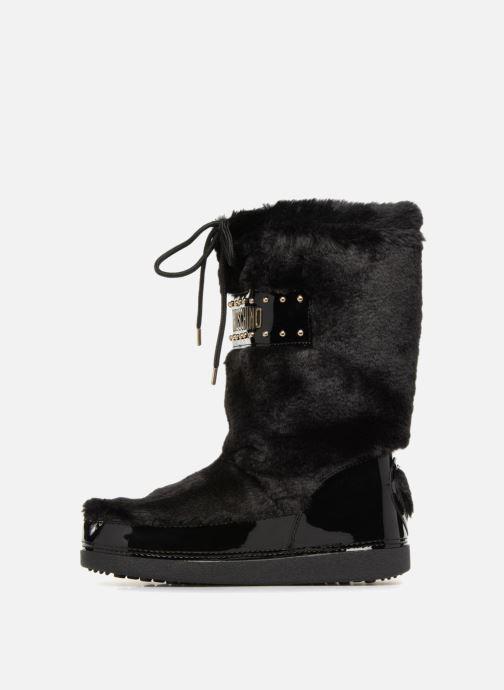 Sportschuhe Love Moschino Ecu Fur Ski-boots schwarz ansicht von vorne