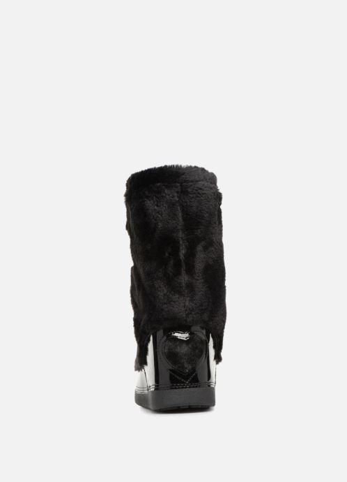 Sportschuhe Love Moschino Ecu Fur Ski-boots schwarz ansicht von rechts
