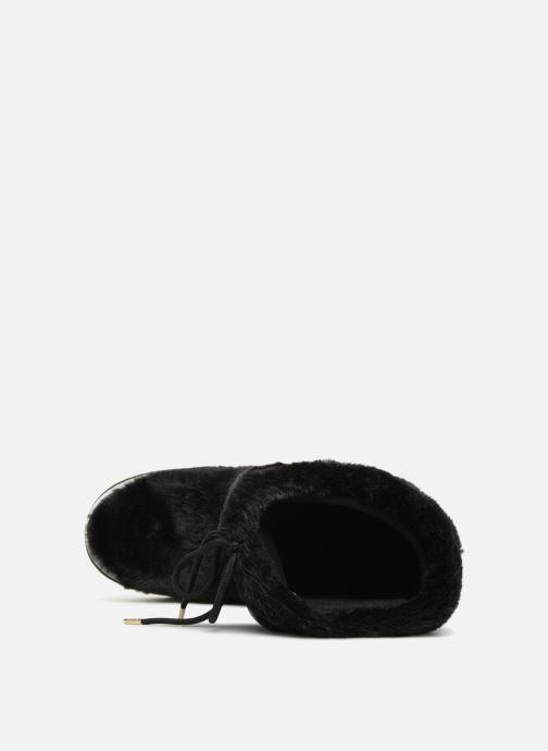 Sportschuhe Love Moschino Ecu Fur Ski-boots schwarz ansicht von links