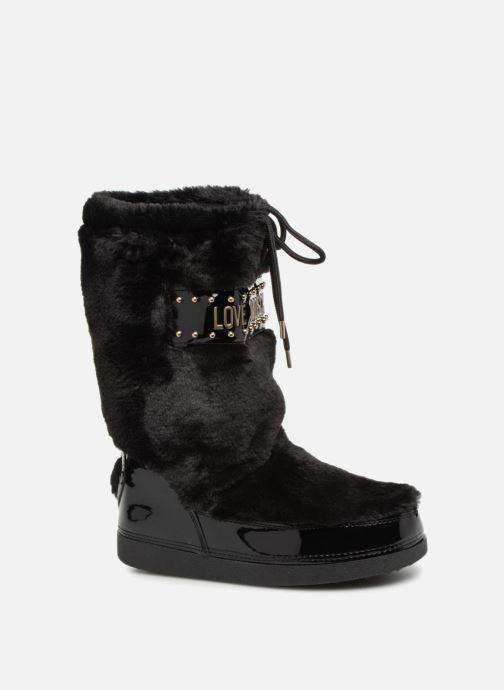 Sportschuhe Love Moschino Ecu Fur Ski-boots schwarz detaillierte ansicht/modell