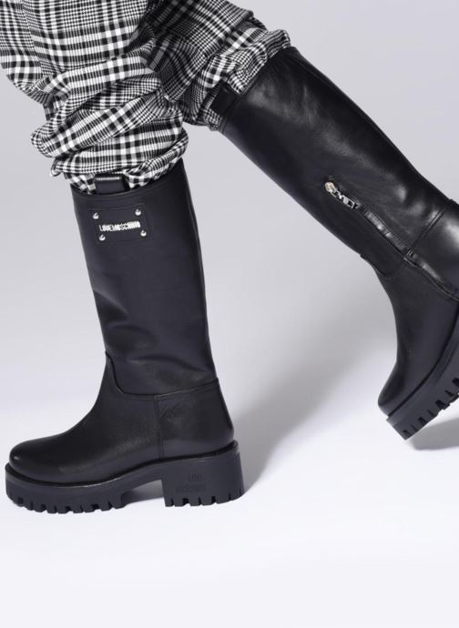 Botas Love Moschino New Urban Boot Beige vista de abajo