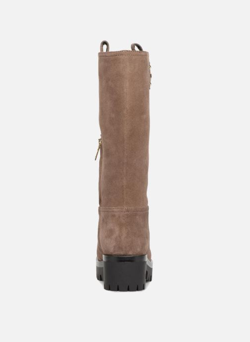 Botas Love Moschino New Urban Boot Beige vista lateral derecha