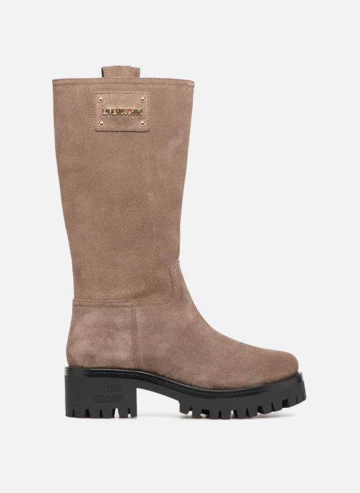 Botas Love Moschino New Urban Boot Beige vistra trasera