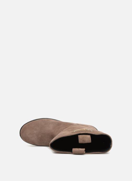 Bottes Love Moschino New Urban Boot Beige vue gauche