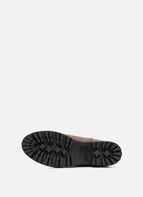 Bottes Love Moschino New Urban Boot Beige vue haut