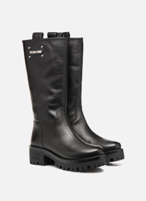 Bottes Love Moschino New Urban Boot Noir vue 3/4