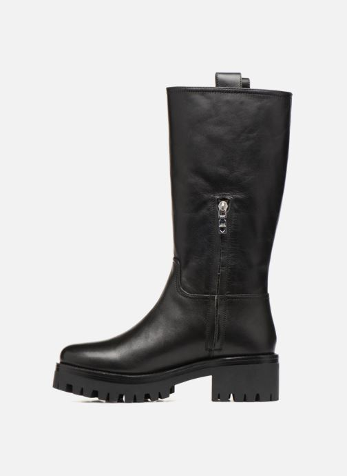 Bottes Love Moschino New Urban Boot Noir vue face