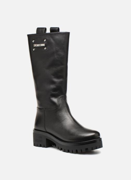 Bottes Love Moschino New Urban Boot Noir vue détail/paire