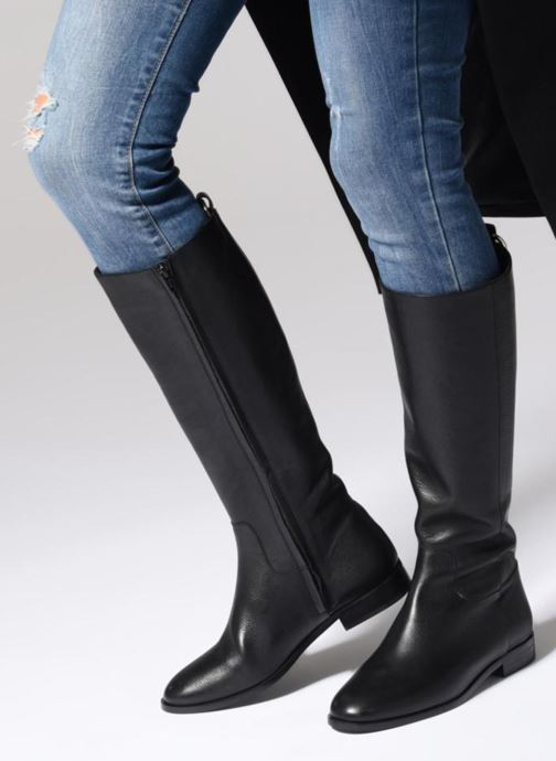 Boots & wellies Anaki REGENT Black view from underneath / model view