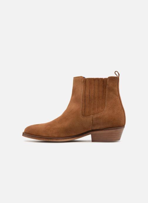 Boots en enkellaarsjes Anaki PINK Bruin voorkant