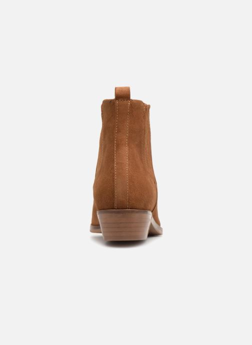 Boots en enkellaarsjes Anaki PINK Bruin rechts
