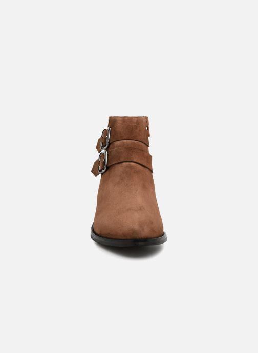 Bottines et boots Anaki STONE Marron vue portées chaussures