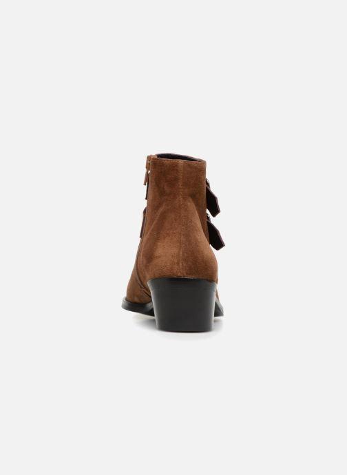 Bottines et boots Anaki STONE Marron vue droite
