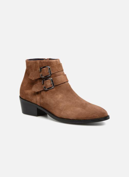 Bottines et boots Anaki STONE Marron vue détail/paire