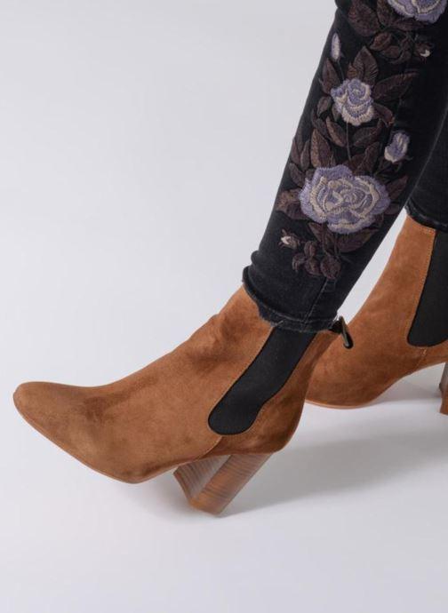 Stiefeletten & Boots Anaki LED schwarz ansicht von unten / tasche getragen