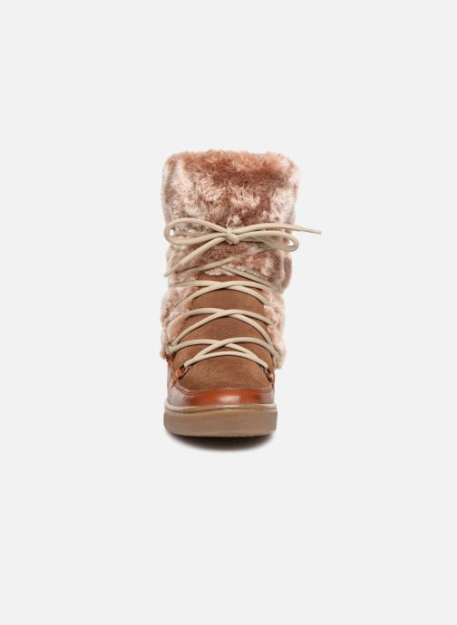 Stiefeletten & Boots Anaki MOON BOOTS POLO braun schuhe getragen