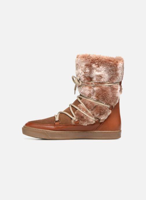 Stiefeletten & Boots Anaki MOON BOOTS POLO braun ansicht von vorne
