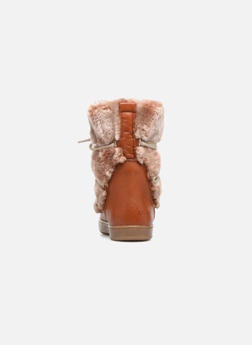 Stiefeletten & Boots Anaki MOON BOOTS POLO braun ansicht von rechts