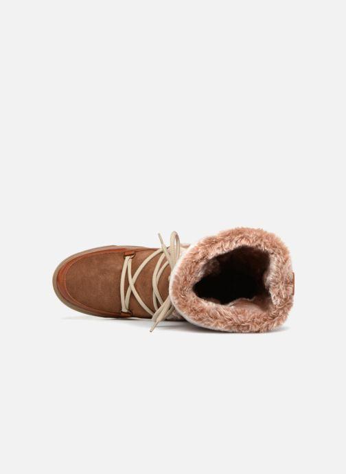 Stiefeletten & Boots Anaki MOON BOOTS POLO braun ansicht von links