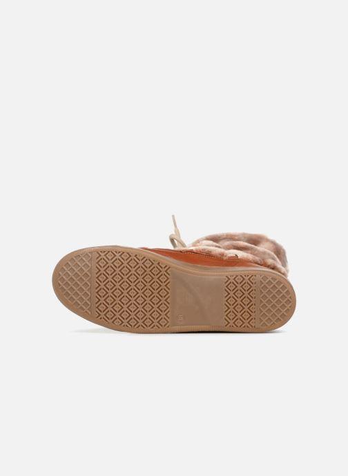 Stiefeletten & Boots Anaki MOON BOOTS POLO braun ansicht von oben