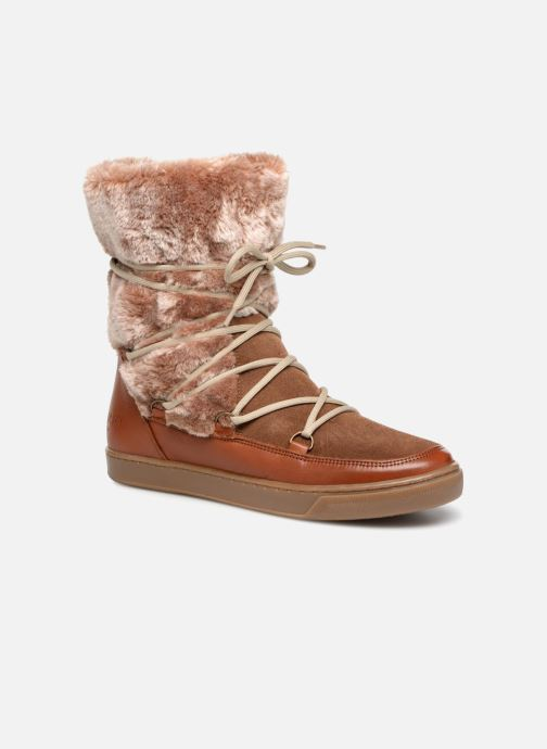 Stiefeletten & Boots Anaki MOON BOOTS POLO braun detaillierte ansicht/modell
