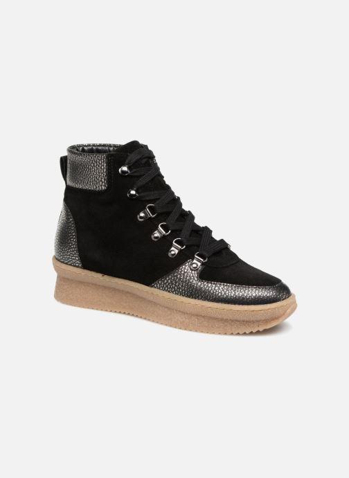 Boots en enkellaarsjes Anaki SOHO Zwart detail