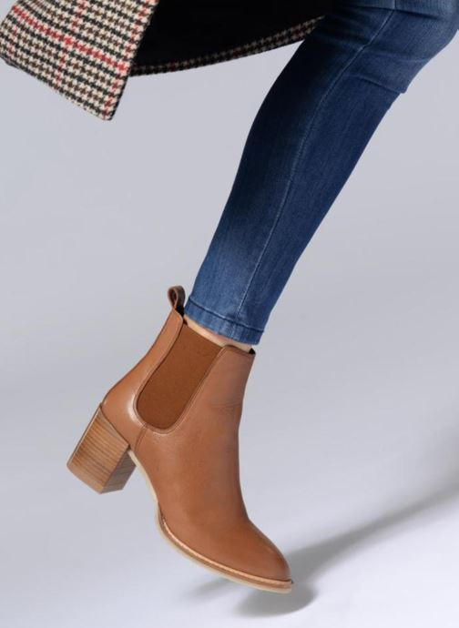 Stiefeletten & Boots Anaki YOYO braun ansicht von unten / tasche getragen