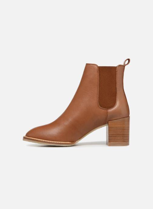Boots en enkellaarsjes Anaki YOYO Bruin voorkant
