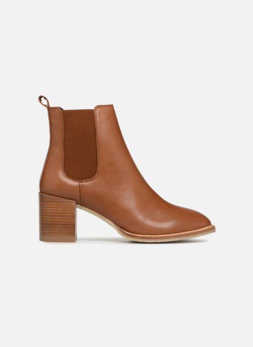 Boots en enkellaarsjes Anaki YOYO Bruin achterkant