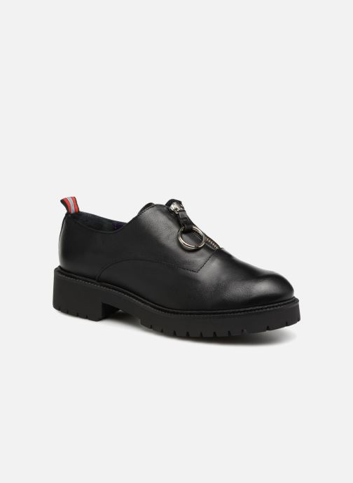 Lace-up shoes Anaki CAT Black detailed view/ Pair view