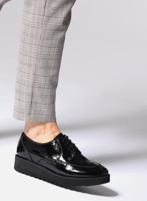 Zapatos con cordones Anaki DUSTY Negro vista de abajo