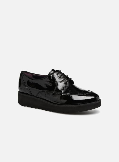 Lace-up shoes Anaki DUSTY Black detailed view/ Pair view