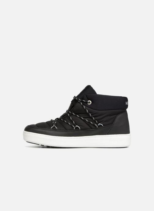 Chaussures de sport Moon Boot MERCURY NYLON WP Noir vue face