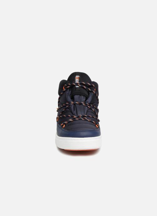 Chaussures de sport Moon Boot MERCURY NYLON WP Bleu vue portées chaussures
