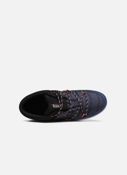 Chaussures de sport Moon Boot MERCURY NYLON WP Bleu vue gauche