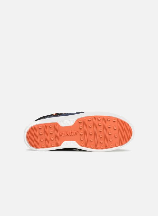 Chaussures de sport Moon Boot MERCURY NYLON WP Bleu vue haut