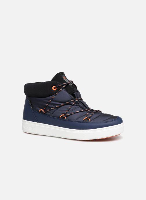 Chaussures de sport Moon Boot MERCURY NYLON WP Bleu vue détail/paire