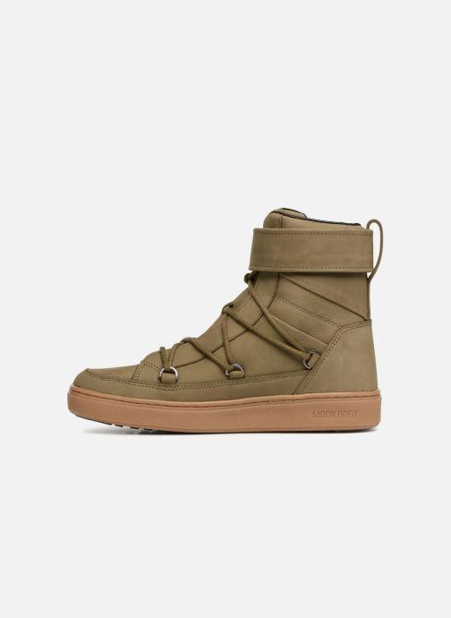 Chaussures de sport Moon Boot MERCURY L.A. Vert vue face
