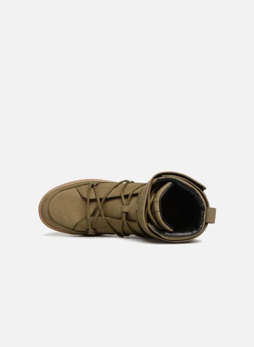 Zapatillas de deporte Moon Boot MERCURY L.A. Verde vista lateral izquierda