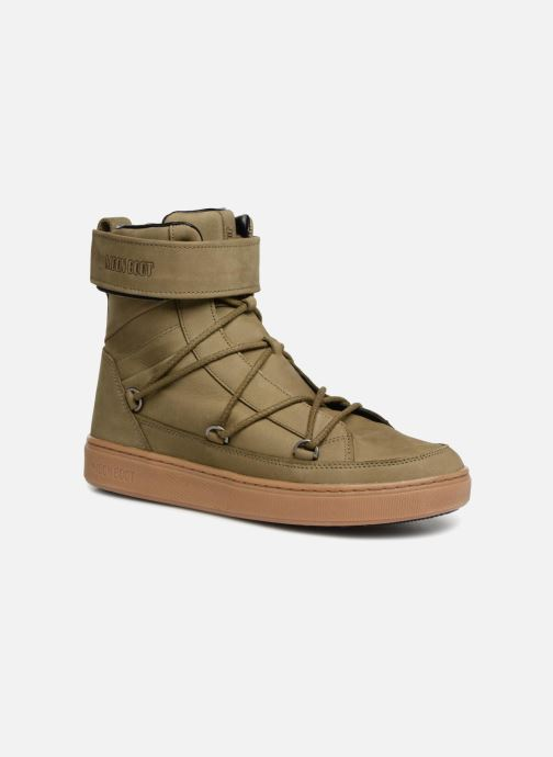 Chaussures de sport Moon Boot MERCURY L.A. Vert vue détail/paire