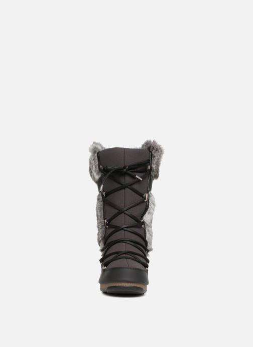 Chaussures de sport Moon Boot Monaco Te Wp Noir vue portées chaussures