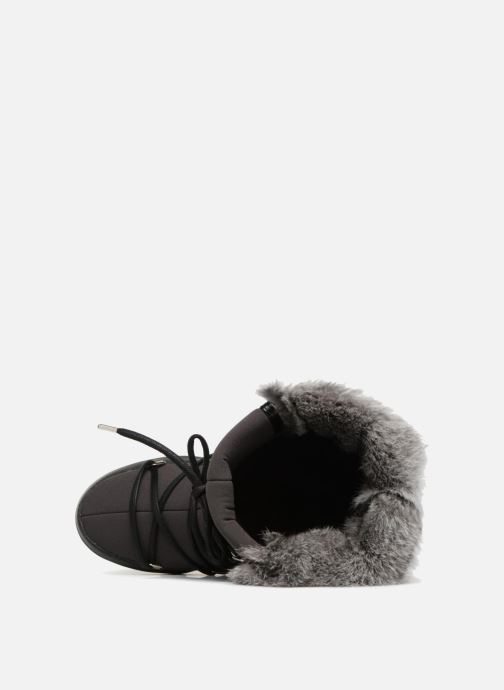 Chaussures de sport Moon Boot Monaco Te Wp Noir vue gauche