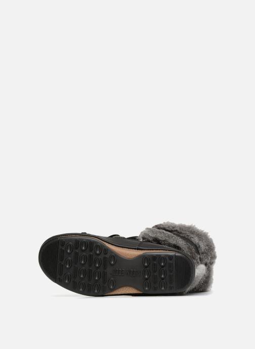 Chaussures de sport Moon Boot Monaco Te Wp Noir vue haut